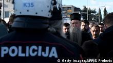 Montenegro Podgorica | Protest der Orthodoxie gegen geplantes Gesetz