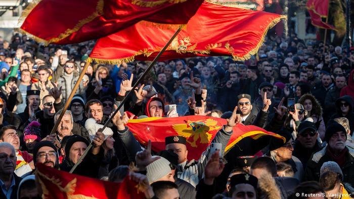 Montenegro Cetinje | Orthodoxes Weihnachten 2020 (Reuters/S. Vasiljevic)