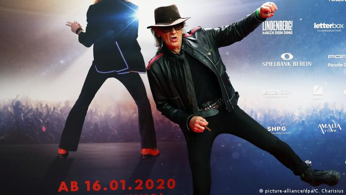 Udo Lindenberg at the premiere of Lindenberg! Do your thing! (picture-alliance/dpa/C. Charisius)