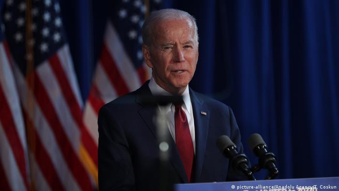 USA New York City | Joe Biden, ehemaliger US-Vizepräsident