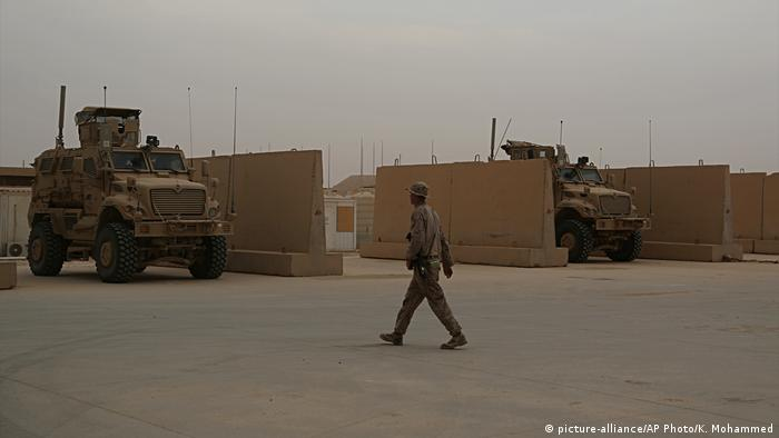 irakische Militärbasis Ain al-Assad