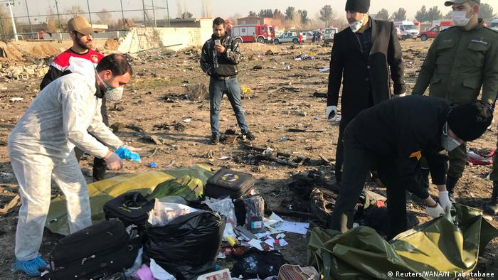 Зеленский объявил 9 января днем траура в Украине в связи с крушением самолета в Иране