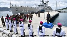 Indonesien Präsident Joko Widodo besucht Natuna