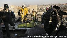 Iran Flugzeugabsturz