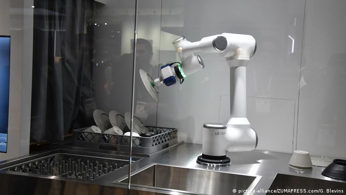 CLOi-Roboterarm auf der CES