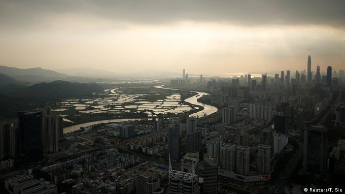 Bildergalerie Grenzgebiet zwischen China und Hongkong