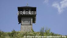 Der Limes-Turm bei Arzbach (Rhein-Lahn-Kreis ) zählt zum Weltkulturerbe, Rheinland-Pfalz Deutschland | Verwendung weltweit, Keine Weitergabe an Wiederverkäufer.