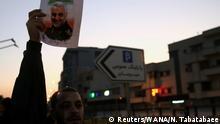 Irak Irans Vergeltungsschlag kommt mit Vorwarnung