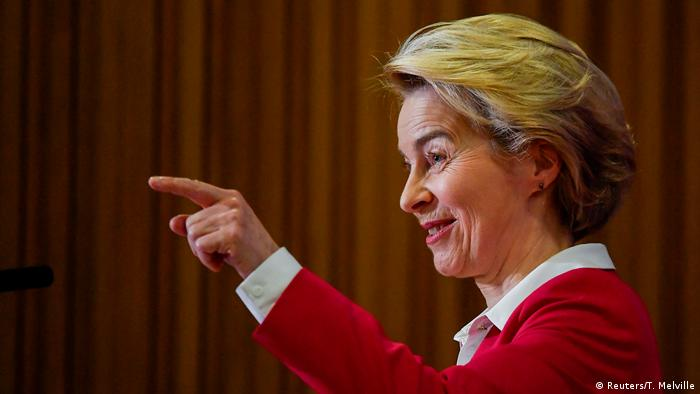 EU Commission President Ursula von der Leyen