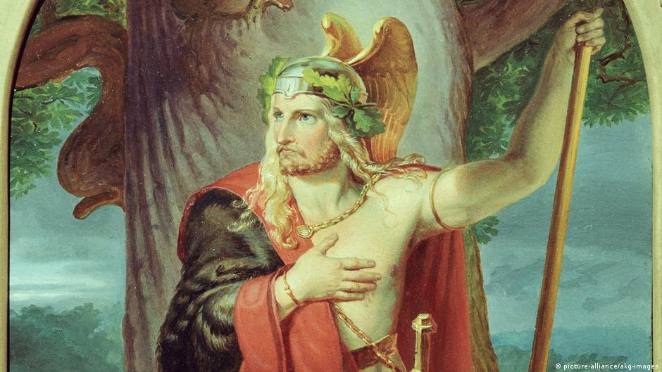 Barbarians or heroes? The Germanic tribes, beyond the myths