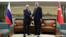 Türkei Istanbul | Wladimir Putin, Russland & Recep Tayyip Erdogan
