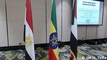 Äthiopien Addis Abeba | Diskussion Blue Nile & Renaissance-Damm | Flaggen