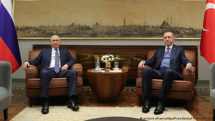 Türkei Wladimir Putin trifft Recep Tayyip Erdogan in Istambul
