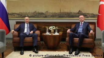 Putin ve Erdoğan 8 Ocak'ta İstanbul'da ateşkes çağrısı yapmıştı