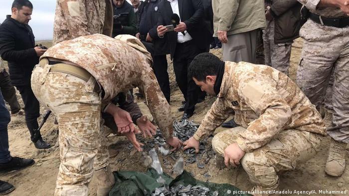 Irak Al Asad Airbase Militärstützpunkt | nach Angriff durch Iran (picture-alliance/Anadolu Agency/A. Muhammed)