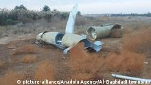 Irak Al Asad Airbase Militärstützpunkt | nach Angriff durch Iran