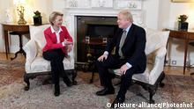 Großbritannien London | Ursula von der Leyen & Boris Johnson