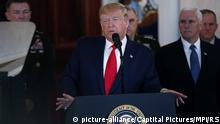 Trump äußert sich zum iranischen Angriff im Irak