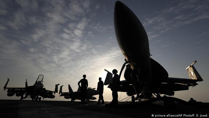 Militares americanos no Golfo Pérsico