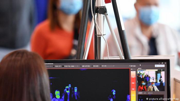 Südkorea Seoul mysteriöse Lungenkrankheit aus China (picture-alliance/Yonhap)