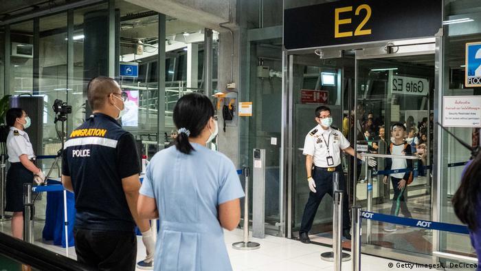 Thailand Bangkok mysteriöse Lungenkrankheit aus China