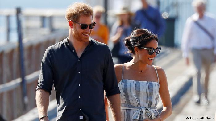 El príncipe Enrique y la duquesa Meghan en Queensland, Australia. (2018).
