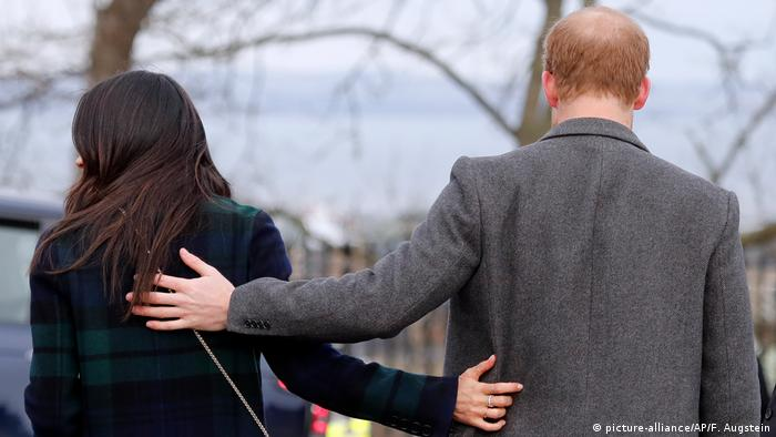 UK Monarchie l Prinz Harry und Herzogin Meghan (picture-alliance/AP/F. Augstein)