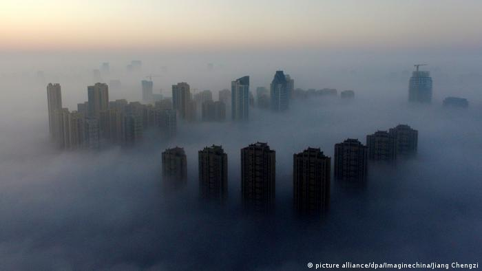 China Wuhan neue Lungenkrankheit entdeckt (picture alliance/dpa/Imaginechina/Jiang Chengzi)