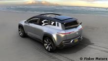 Fisker Ocean - elektrischer SUV mit Solardach und recycleten Materialien im Innenraum