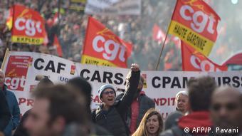 Protesto em Toulouse, no sul da França