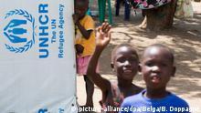 Uganda UNHCR-Flüchtlingslager
