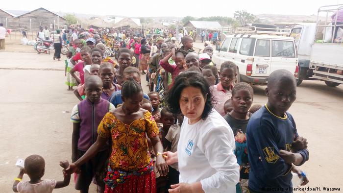 Група біженців з Конго в Уганді