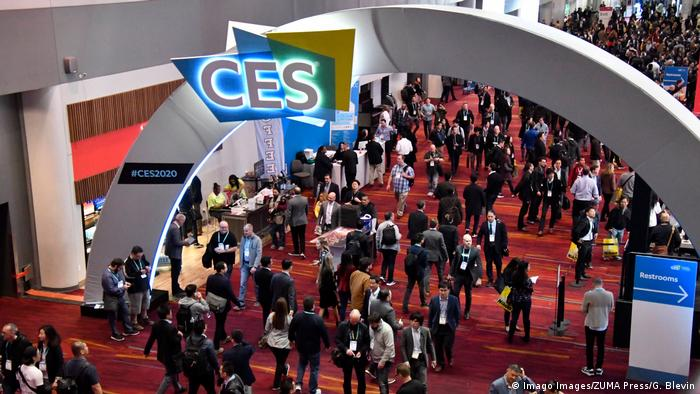 USA CES 2020 - Messe in Las Vegas (Imago Images/ZUMA Press/G. Blevin)