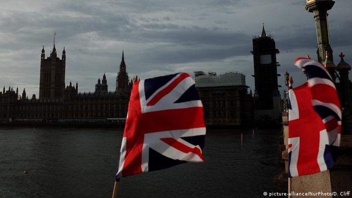 Großbritannien Houses of Parliament in London