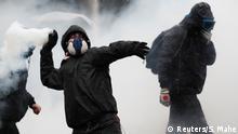 Frankreich Nantes | Protest gegen Pläne für Rentenreform
