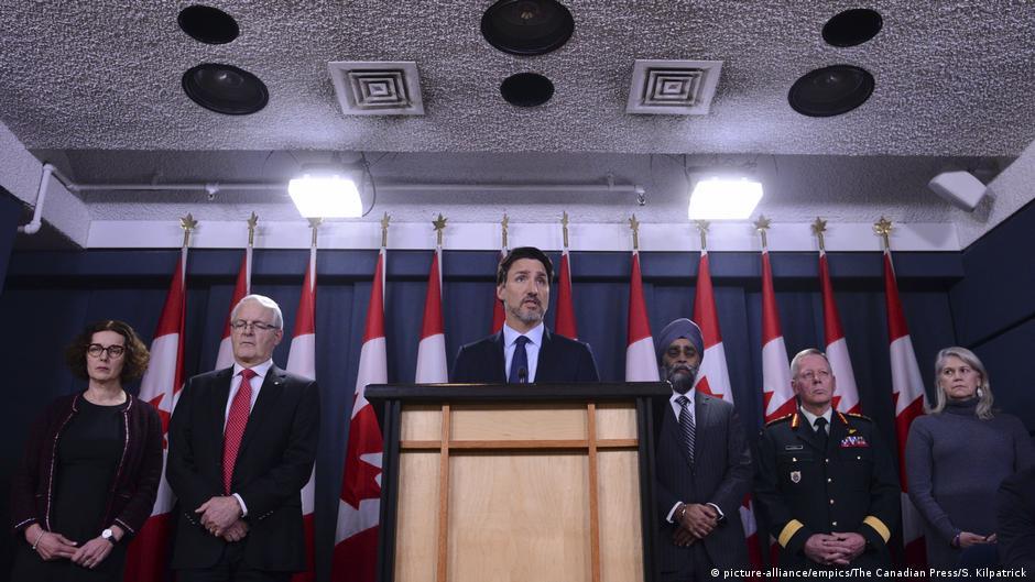 Kanadas Premier Trudeau: Hinweise auf versehentlichen Flugzeug-Abschuss im Iran