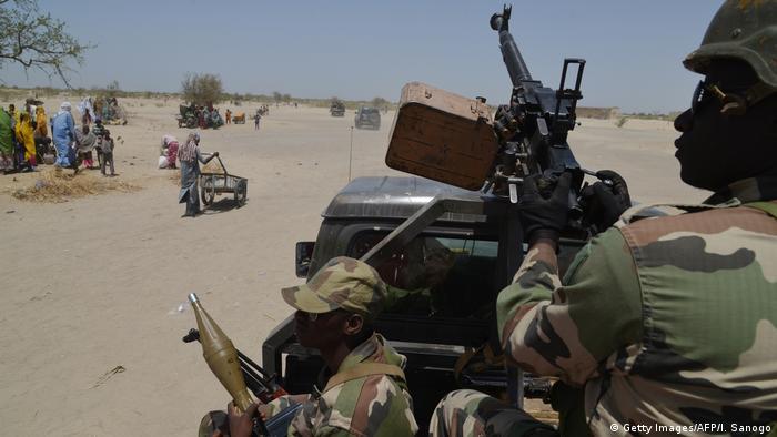 Nigerien troops