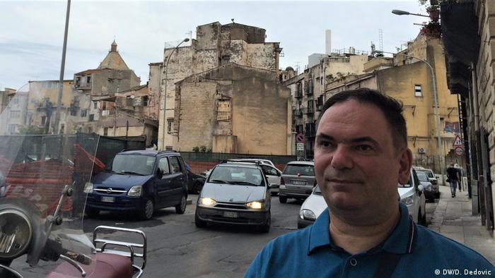 Naš autor Dragoslav Dedović u Palermu