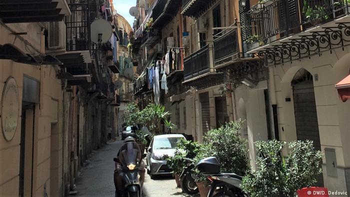 Italien Palermo   Strasse