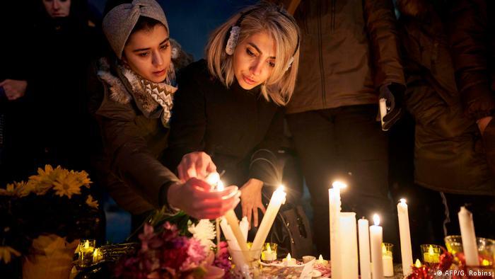 Kanada Trauer um Flugzeugabsturz Ukrainian Airlines 752