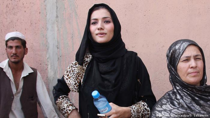 Afghanistan Robina Jalali neue ANAF-Chefin (picture-alliance/dpa/S. Sabawoon)