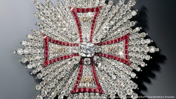 Польский Орден белого орла. Похищен из сокровищницы Зеленого свода