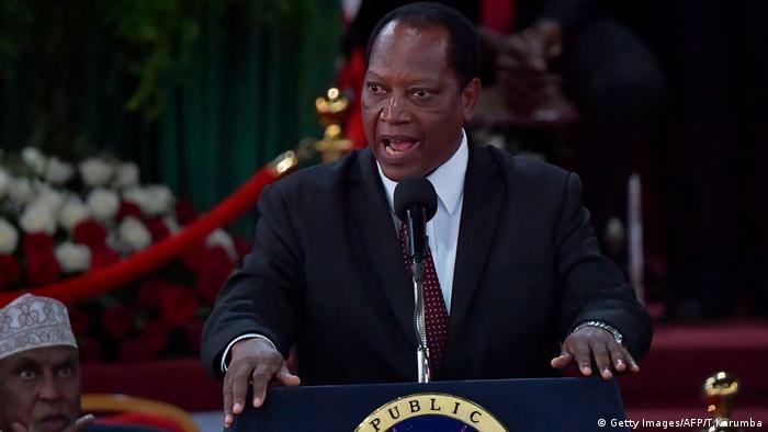 Aussenminister Palamagamba Kabudi von Tansania