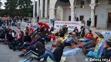 Kroatien | Demonstrationen gegen Strand-Konzessionen in Pula
