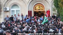Abchasien Sochumi | Opposition stürmt das Präsidentenbüro