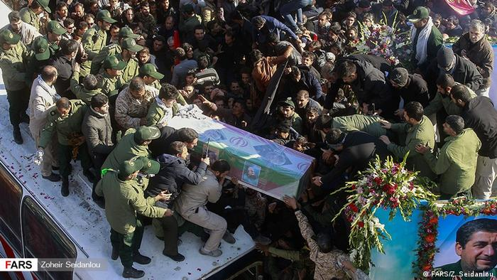 Iran: Burial of Soleimani