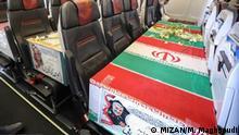 Iran   Überführung Sarg Soleimani