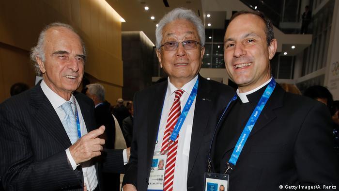 Südkorea Gangneung | Eröffnungseremonie der 132 IOC Session | Mario Pescante, Chang Ung und Melchor Sanchez de Toca