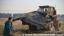 Iran Teheran | Sucharbeiten nach Flugzeugabsturz