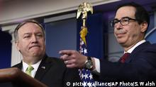 USA Washington | PK Mike Pompeo und Steve Mnuchin